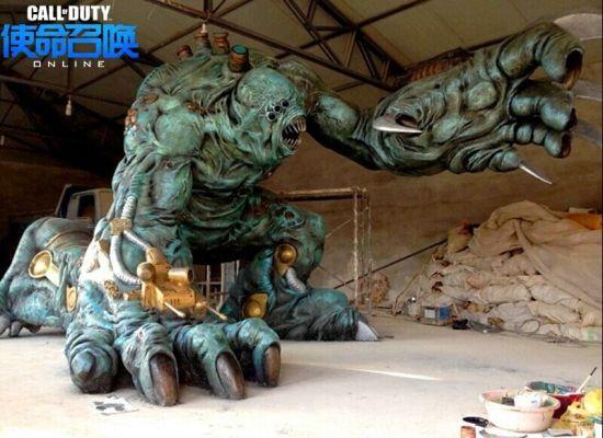 3米的等比例雕像