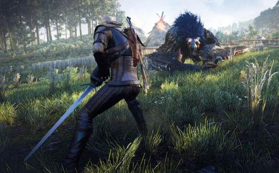 《巫师3》游戏画面