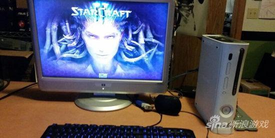 Xbox 360被改装成PC