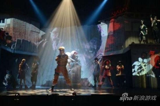 《火影忍者》真人舞台剧彩排现场