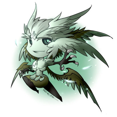 《最终幻想14》风神迦楼罗