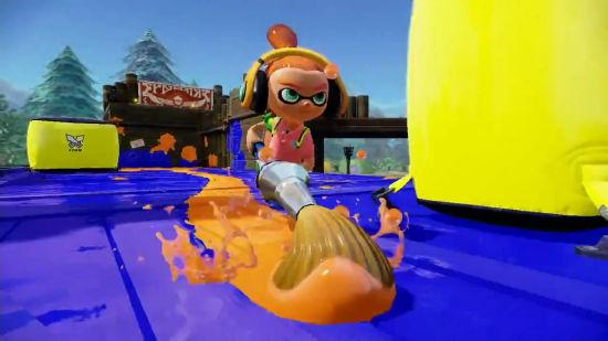WiiU新作《喷射美少女》最新宣传片