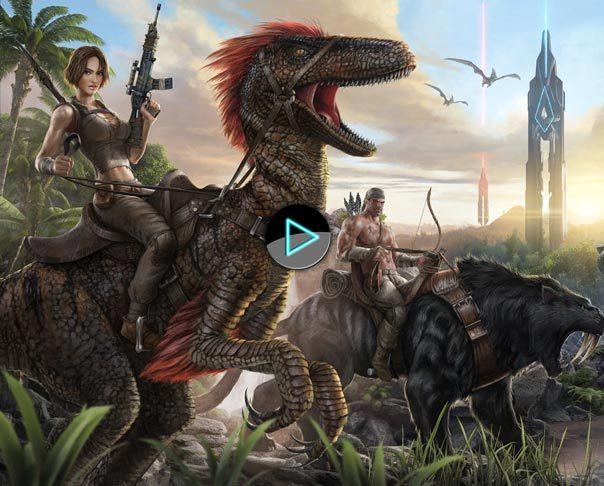 《方舟:生存进化(ARK: Survival Evolved)》游戏视频