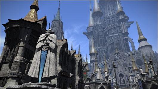 《最终幻想14》3.05补丁伊修加德:上层