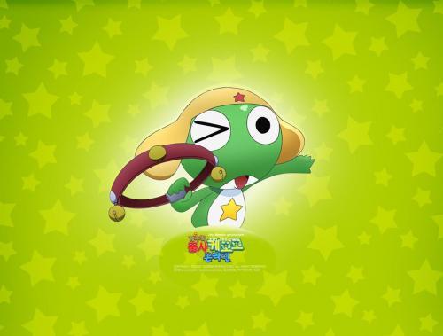 》青蛙军曹系列卡通壁纸(2)