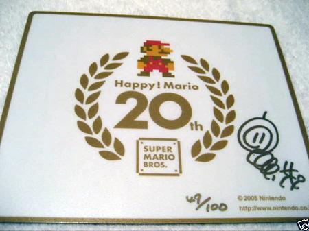 任天堂官方推出新LOGO 纪念马里奥诞生25周年