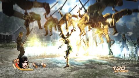 切换武器的瞬间会施展刀的变化攻击将敌人打飞