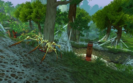 0熊猫人之谜地图翡翠林景色欣赏-新浪魔兽世界专区图片