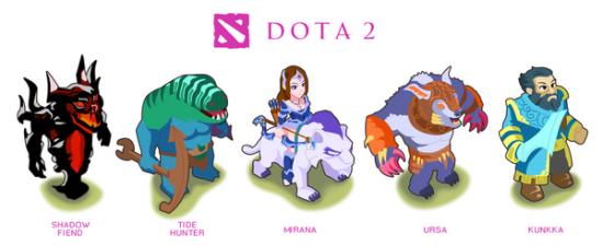 dota2萌化英雄组图第四弹