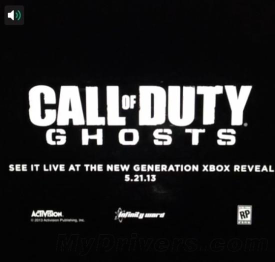 《使命召唤:幽灵》Xbox 720版本明天见