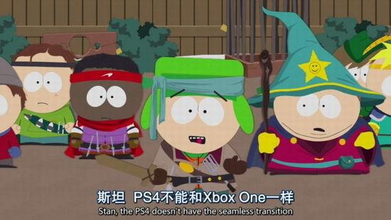 选PS4还是Xbox One?南方公园提前预演主机大战