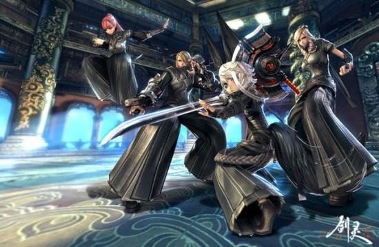 剑灵官方动画 拟打造全新游戏盈利产业-新浪剑