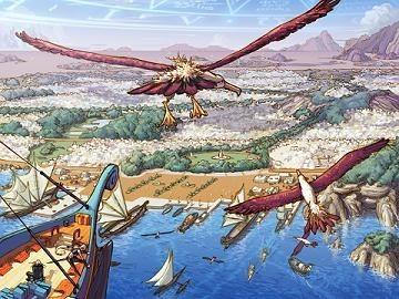 在各种虚空异界里,存在一种叫生命之水的物体,可使获得者拥有无限的生命。生命之水的出现,引起了各异界生命的争夺。魔族使徒爆龙王巴卡尔为抢夺生命之水,率领其手下的龙人和以赫尔德为中心的魔族使徒们展开了被称为龙之战争的魔族大战!   那是一场天地变色、伤亡惨重的毁灭之战,鲜血染红了魔族的土地!战败的巴卡尔通过寂静城逃向了天界,并堵死了魔界通往天界的所有道路。逃向天界 的巴卡尔,为了削弱天族的反抗,不仅下了封杀魔法令,还用强大的魔法制造了具有邪恶力量的光之战士,用来守卫天空之城,完全阻断天界和阿拉
