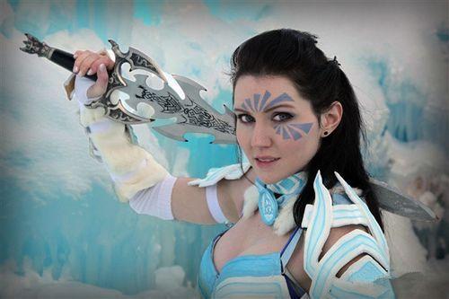 《激战2》美女玩家 诺恩战士COS作品赏析