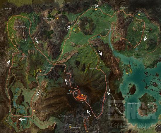 激战2中文版公会悬赏任务NPC位置攻略