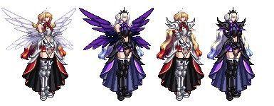 DNF女枪全改白色天空9圣神堕落骑士