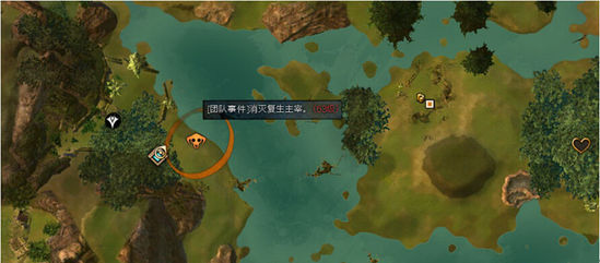 激战2闪萤沼泽地图刷BOSS首领升级路线