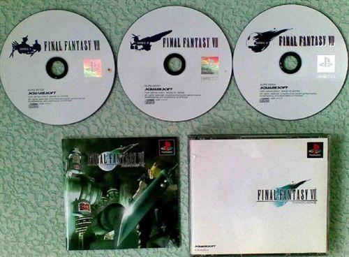 充满回忆 最终幻想系列历代包装盒展示