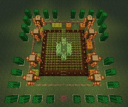 我的世界》种植小麦南瓜等图文教程