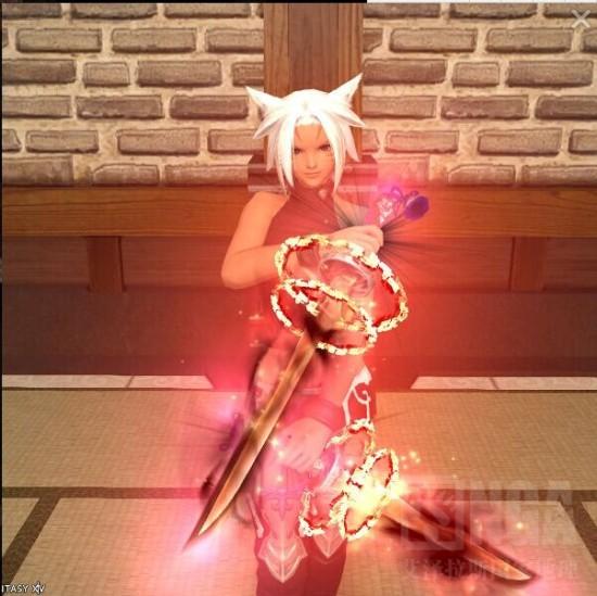 最终幻想14忍者古武器+1到+4图 看了谁都想玩
