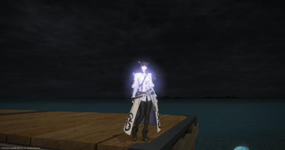 时装控玩家分享配装 搭配太阳海岸夜景很美