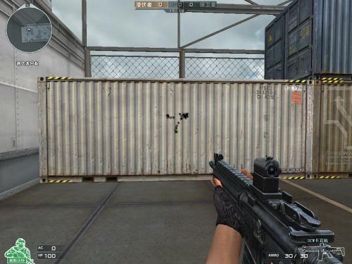 火线全新GP步枪SCW卡宾枪 自带预瞄镜