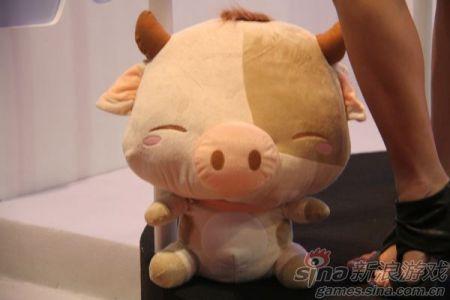一只会笑的猪
