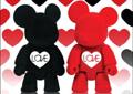 2011限量版情人节植�q2.5寸Qee套装