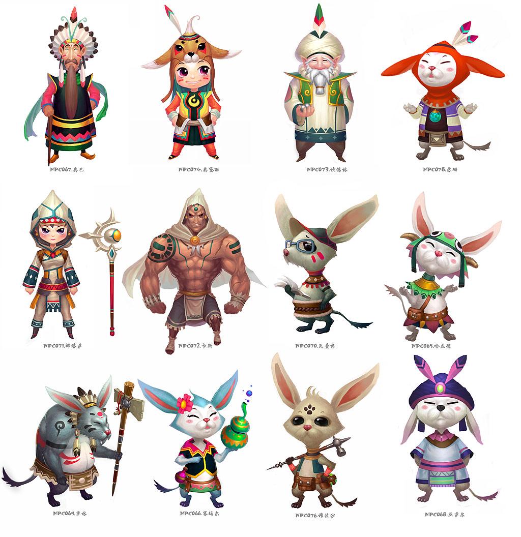 《宠物小精灵》游戏原画(5)