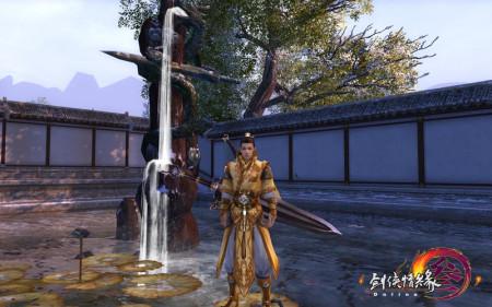 《剑网3》藏剑山庄明日免费公测 首开点卡服
