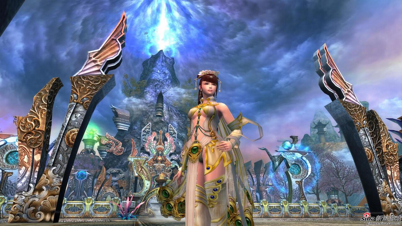 网络游戏女角色_网易《龙剑》5月有望开测性感女角色露肉图集