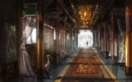 筷子做宫殿步骤图解