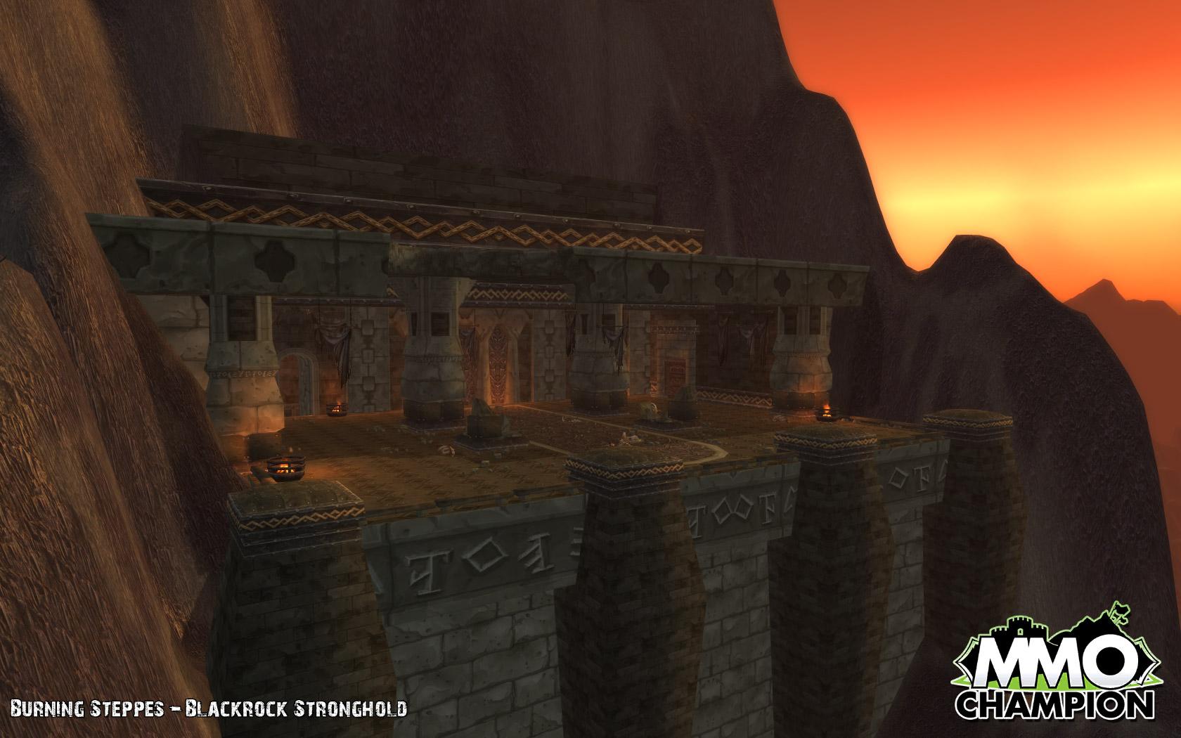 魔兽世界大灾变地图变更东部王国 黑石塔