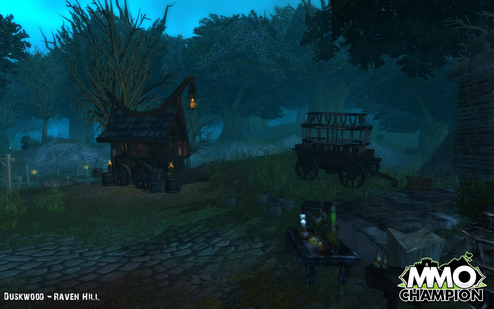 魔兽世界大灾变地图变更东部王国-暮色森林-新浪魔兽图片