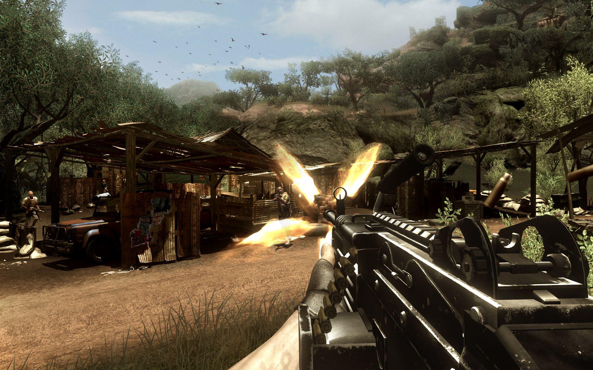 《孤岛惊魂2》e3游戏画面(8)图片