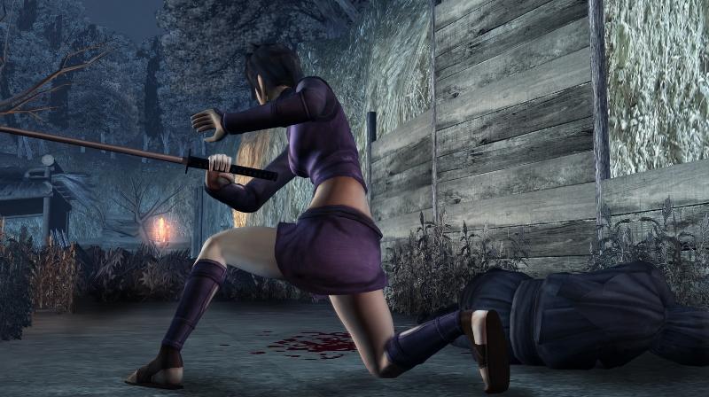 《天诛4》psp版设定及画面(4)_游戏新闻__电视游戏图片