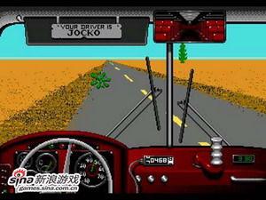 沙漠巴士几乎全程都是这一个画面,无需视频演示