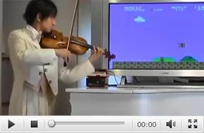 小提琴演奏超级玛丽 震撼ing……