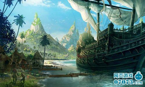 明清时代的航海灯塔