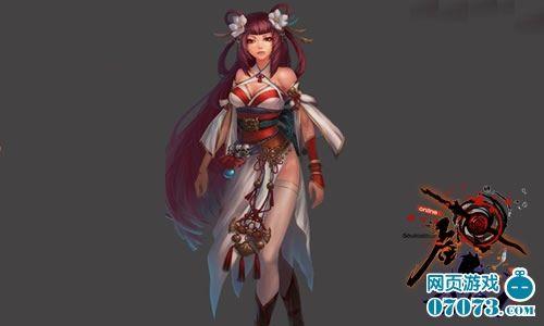 游戏 使得古典的东方女性角色塑造出现代美女的气息!