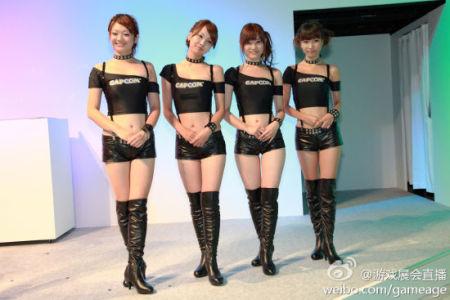 新浪游戏_大作齐聚Showgirl更给力 TGS2011四日美腿云集