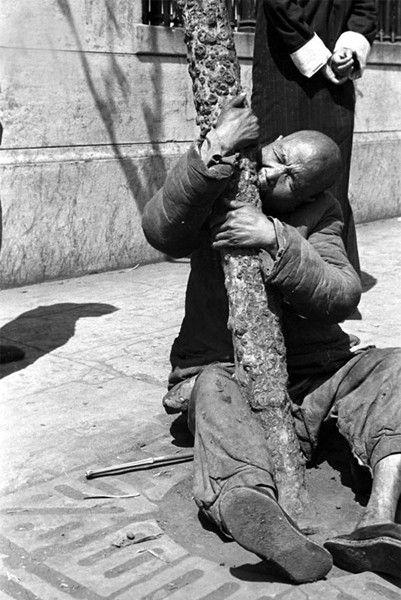 河南大饥荒发生在1942年夏到1943年春,河南发生大旱灾,夏秋两季大部绝收。大旱之后,又遇蝗灾。饥荒遍及全省110个县。据估计,1000万众的河南省,有300万人饿死,另有300万人西出潼关做流民,沿途饿死、病死、扒火车挤踩摔(天冷手僵从车顶上摔下来)轧而死者无数。