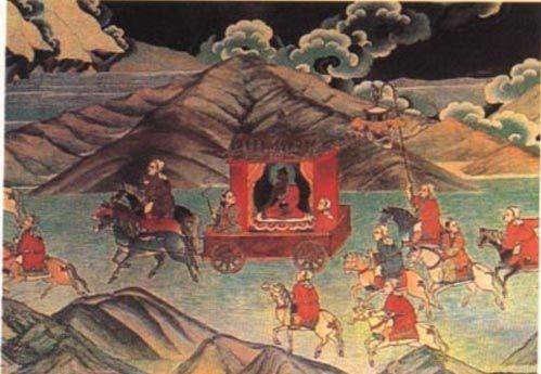 《文成公主入藏图》