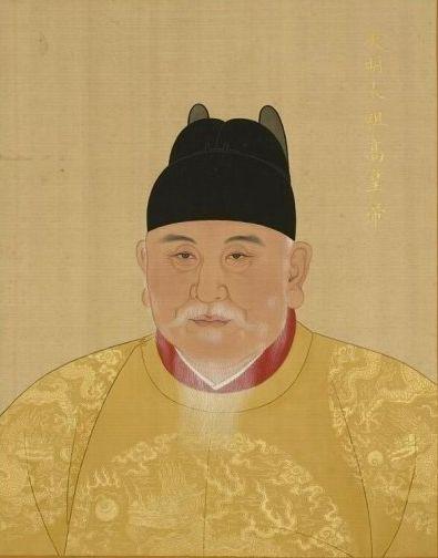朱元璋画像(宫廷版)