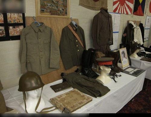 日本的战争纪念馆一角。