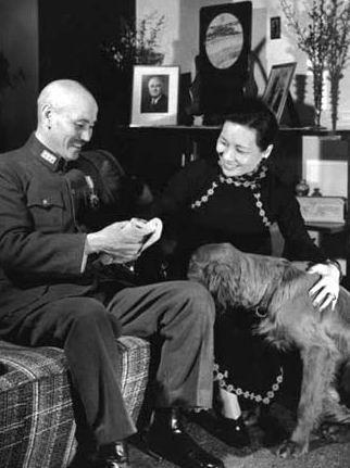 蒋介石与宋美龄
