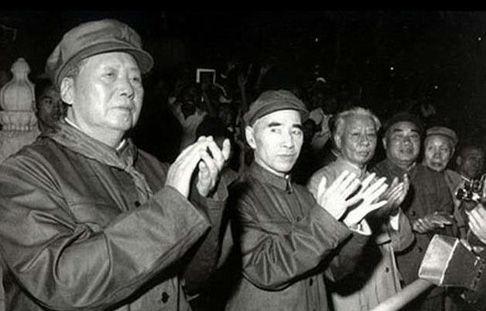 文革中毛泽东、林彪、刘少奇等