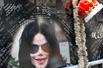 美国歌迷齐聚好莱坞星光大道悼念杰克逊(组图)