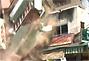 印度六层违章建筑突然倒塌瞬间化为废墟