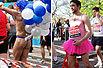 实拍:伦敦马拉松充满喜感